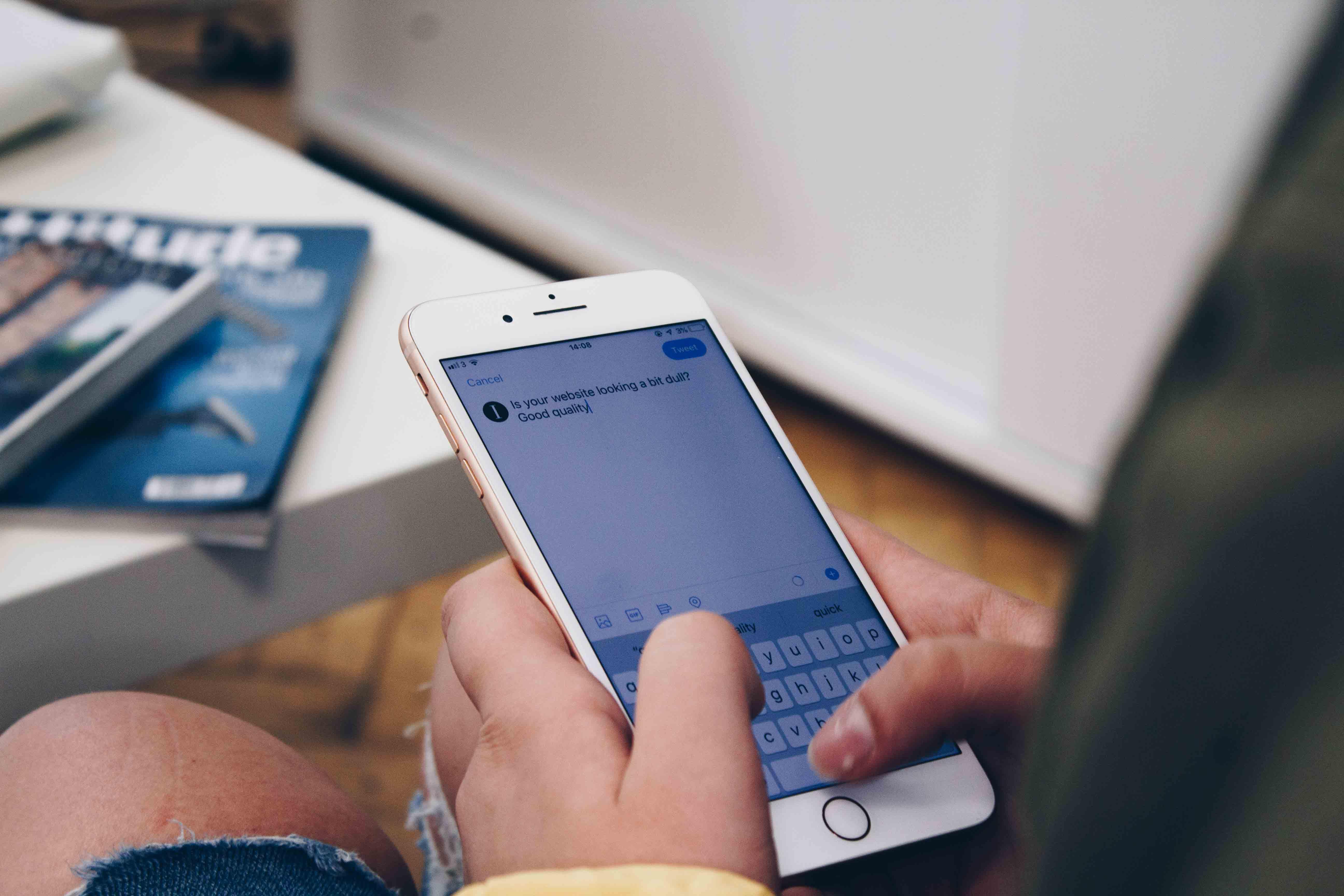 social media content | Institution