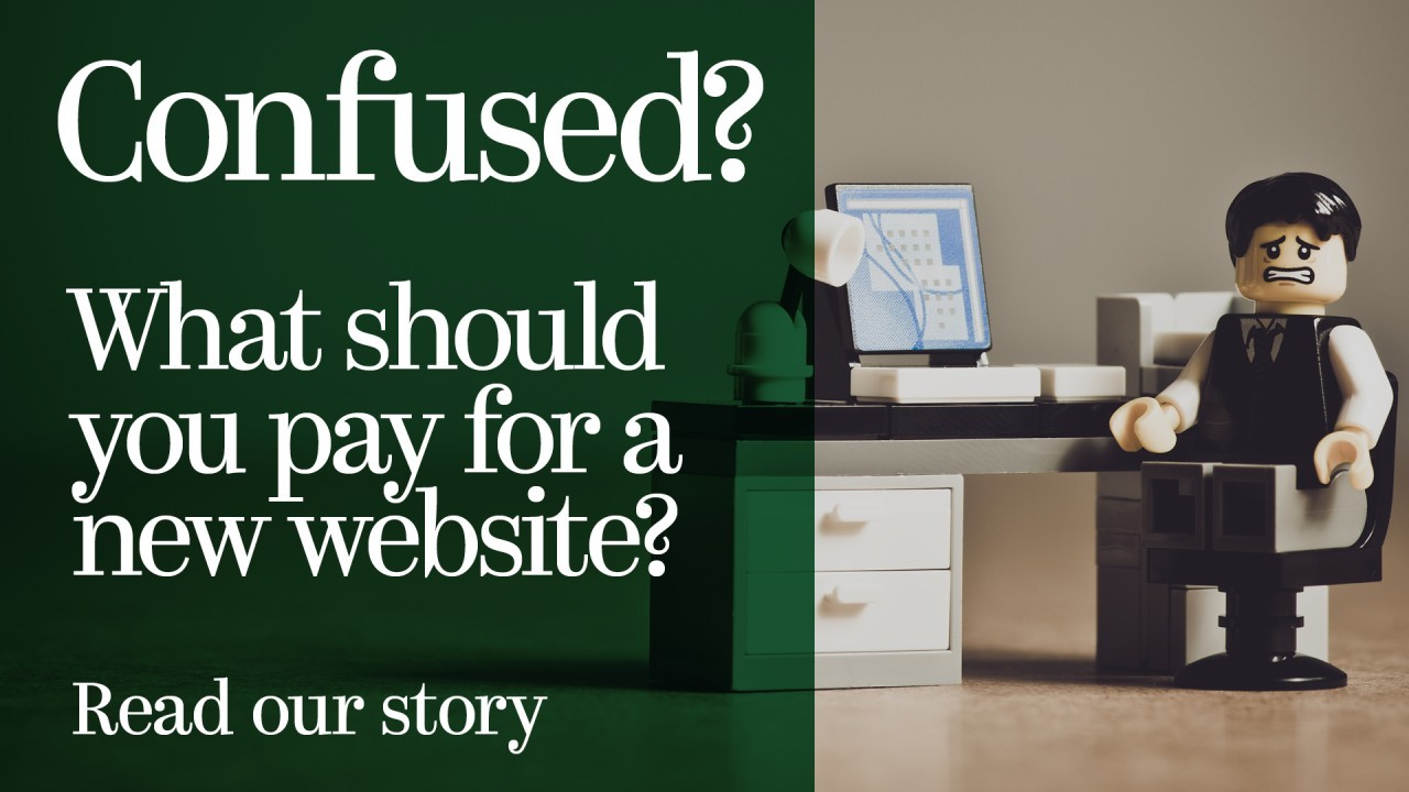 What should your business pay for a new website? Be careful, don't get ripped off.